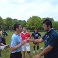 浅野選手に指導されてる和田先生②